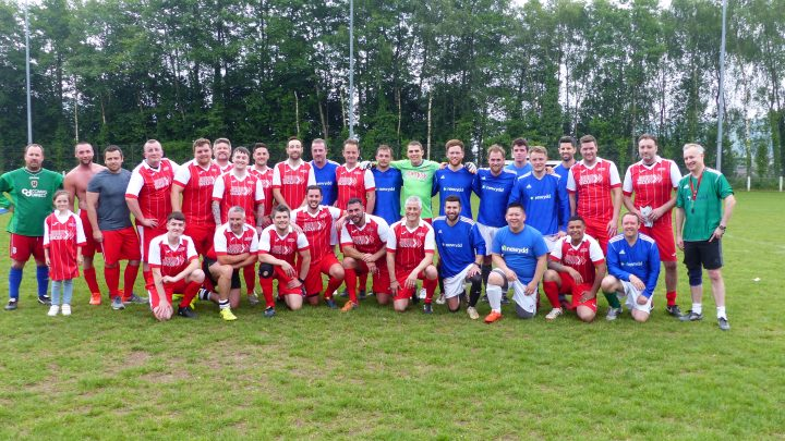 jehu and newydd charity football match